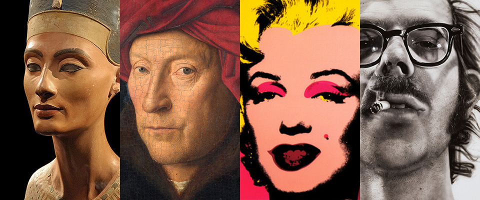 """Big Heads"" (Portraits) from art history"