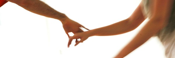 Close-up of hands holding
