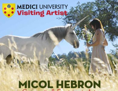 Micol Hebron, visiting artist, Medici University