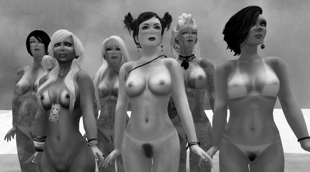 "Scarlett Luv, Harmony Sandalphon, Agnes Sharple, Lizzie Gudkov & Vanessa Blaylock in ""VB49: SPF50"""