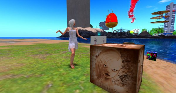 Isabella Medici at Love Beach at LEA1 in Second Life
