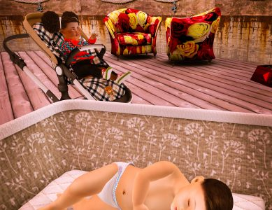 Baby Alcyone, My Robot Stroller, and the truth about why mommy has so many babies
