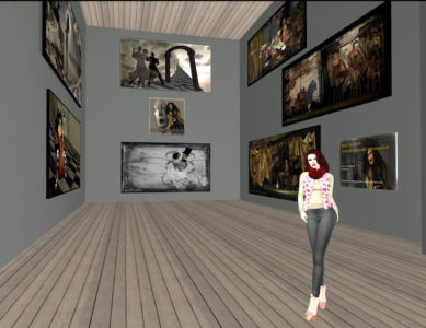 Collecting Art in Second Life