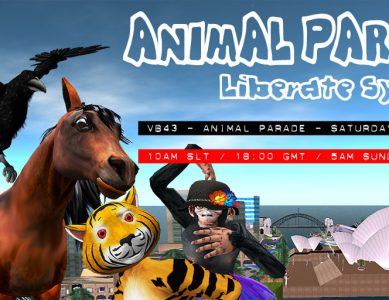 VB43 – Animal Avatar Pride Parade