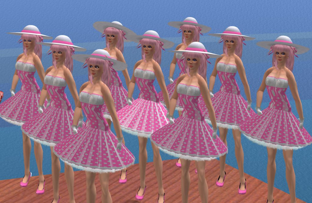 color photo of site performance VB02 - Peggy Sue