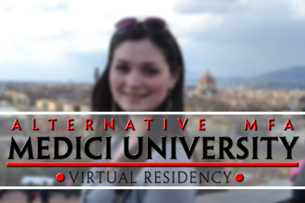 Medici University, Alternative MFA's, Virtual Residency poster