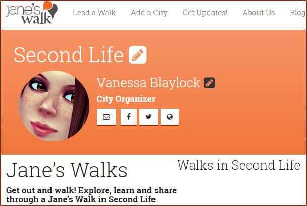 Jane's Walk Website