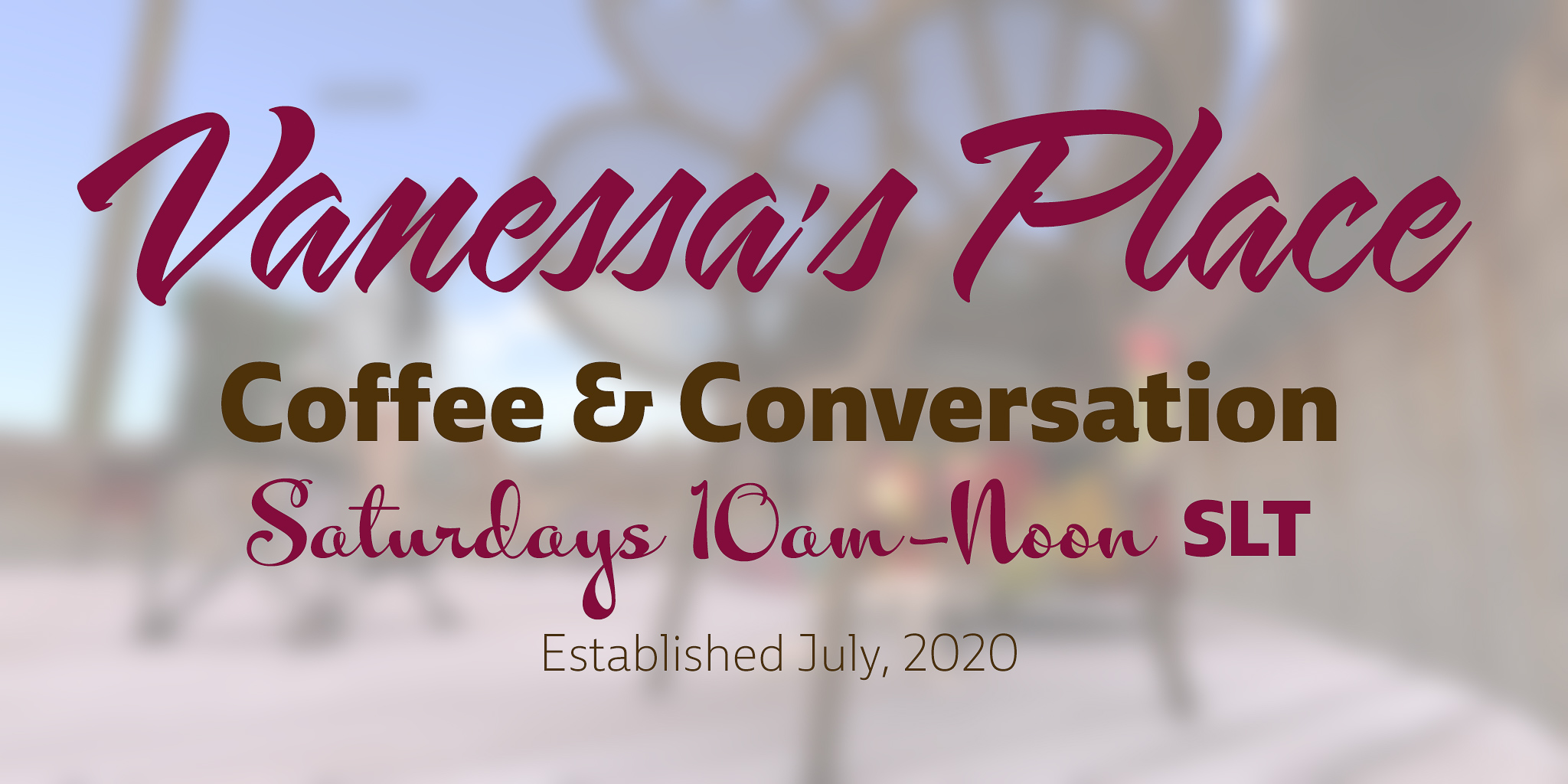 VB 220 – Vanessa's Place: coffee + conversation