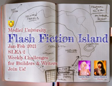 VB 238 Flash Fiction Island