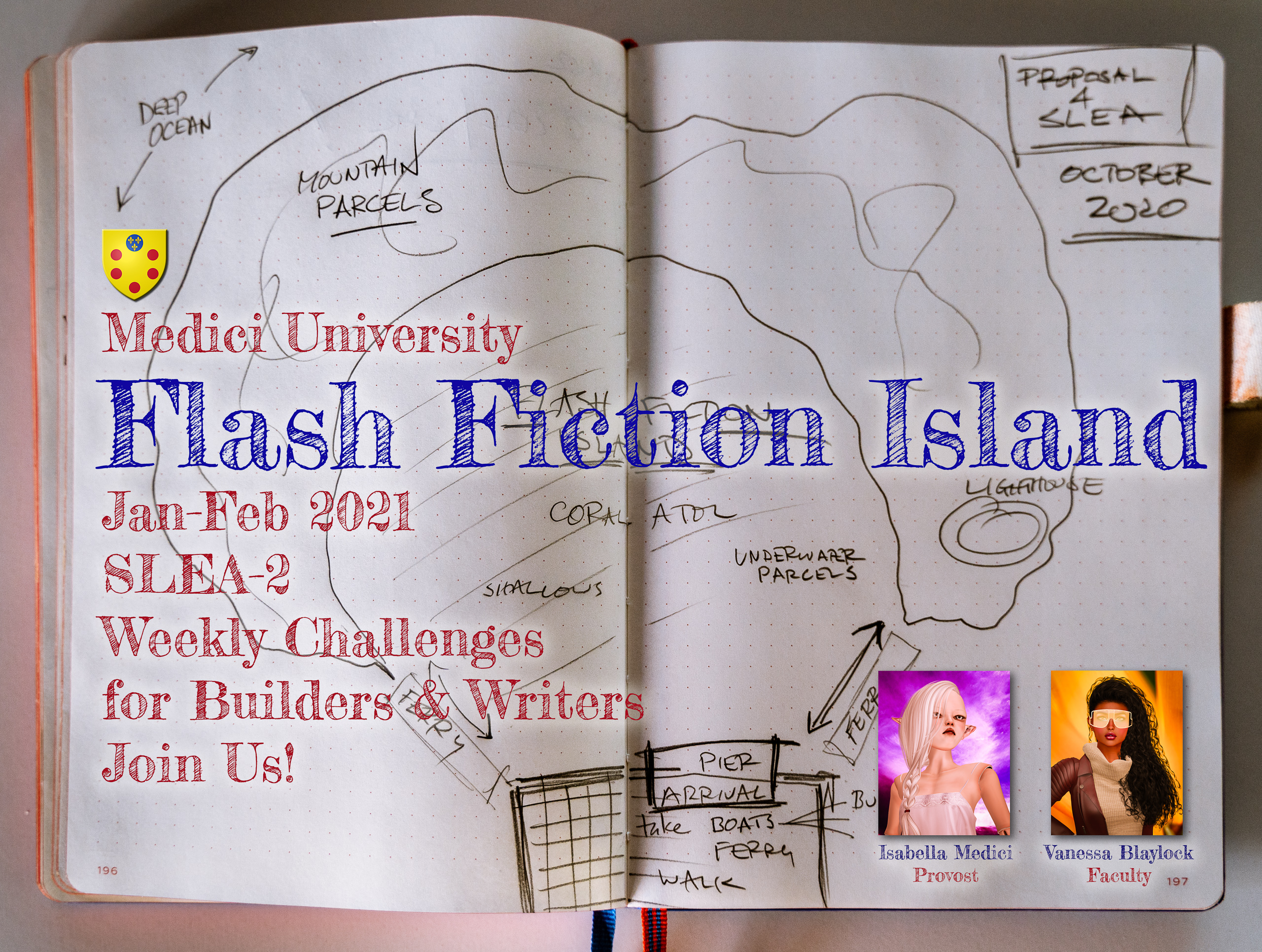 VB 238 Flash Fiction Island